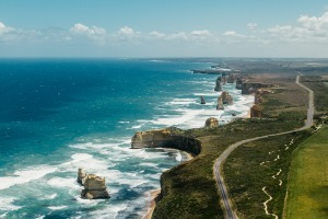 The 12 Apostles on the Great Ocean Road.