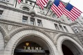The new Trump International Hotel built in the old Pennsylvania, Ave Post Office.