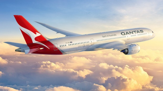 Qantas' first 787 Dreamliner will take off in 2017.