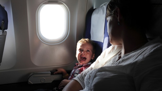 It's no wonder a whopping 70 per cent of parents head to the airport bar, for some mild sedation before their flight.