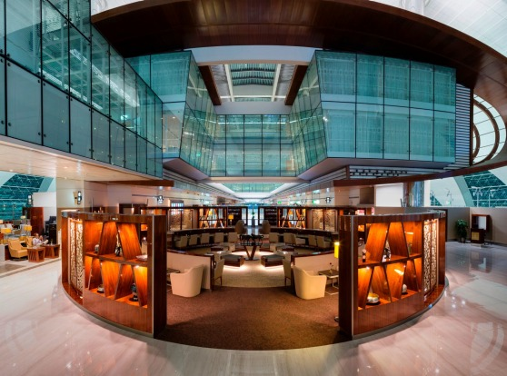 Photos: Emirates opened a new business class lounge at at Dubai International Airport in 2016.