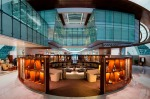 The new Emirates business class lounge at Dubai International Airport.