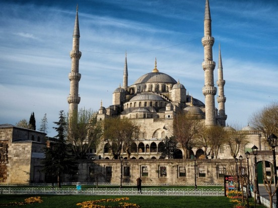 The Blue Mosque in Istanbul dates back to 1609 and is so called because at night it is lit by blue lights. The stunning ...