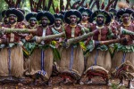 The raw energy of tribes practising dance and war cries in traditional costume and makeup is almost palpable as they ...