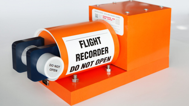 Why is a flight recorder called a black box?