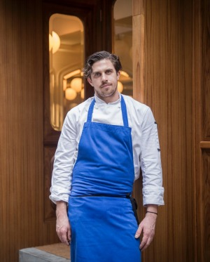 Chef James Henry, Belon Hong Kong.