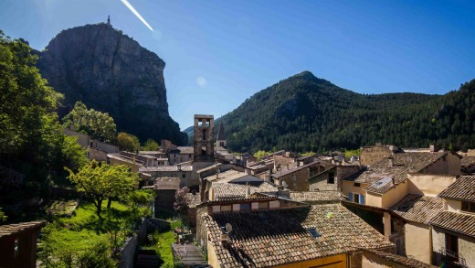 The town of Castellane.