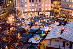 The Christmas market on Barfuesserplatz is the largest in Basel.