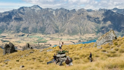 Golf above Queenstown with Over The Top tours.