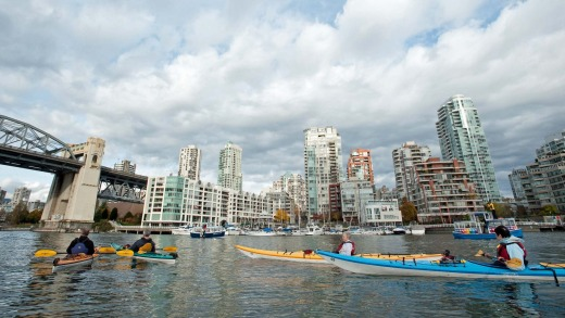 Kayaking Vancouver: See This Amazing City From The Sea
