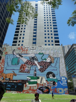 Manila street art bicycle tour mural attraction for Austin mural tour