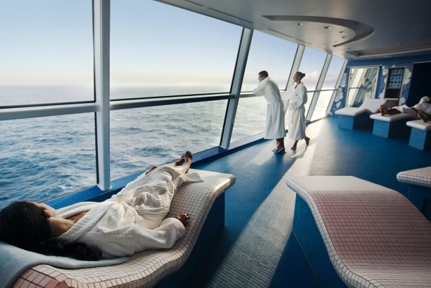 Celebrity Solstice, The Persian Garden Spa.
