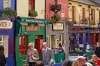 Pedestrian zone in Galway City.