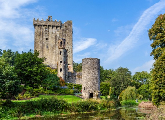 Blarney Castle, near Cork.