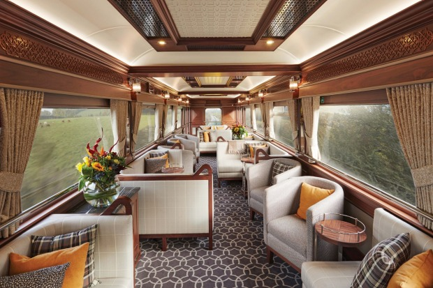 Ireland's Belmond Grand Hibernian new luxury train.
