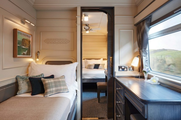 Belmond Grand Hibernian's luxury cabins.