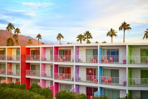 The Saguaro Hotel, Palm Springs.