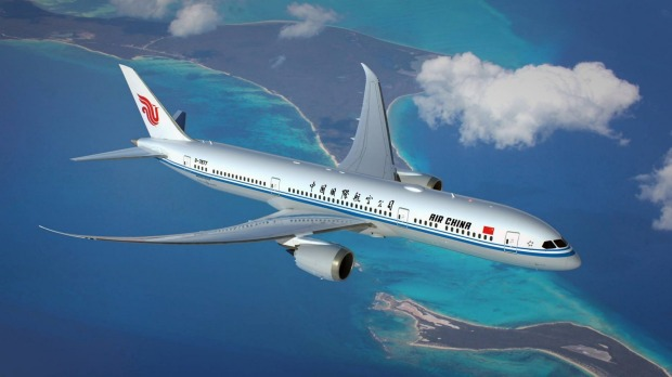 In January 2017, Air China will begin a non-stop service between Melbourne and Shenzhen.
