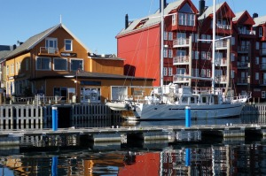 John Peterson explored Svolvaer while on his trip.