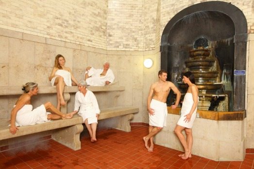 Sauna at Muller'sches Volksbad, Munich.