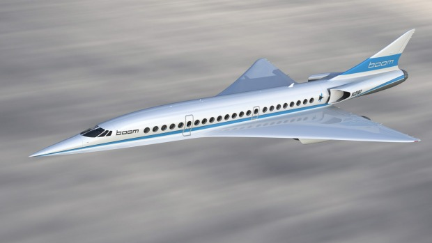 Virgin Galactic is working with aerospace company Boom on a supersonic jet.
