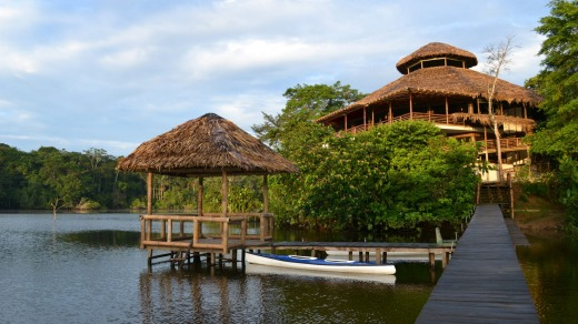 La Selva Amazon Lodge, Ecuadorean Amazon, South America.