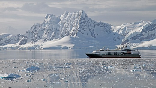 Antarctica promises visitors a starkly stunning landscape.
