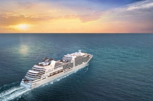 Artist's impression of the forthcoming Seabourn Encore.