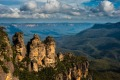 The Three Sisters is a rock formation in the Blue Mountains of NSW.