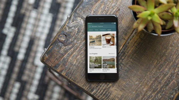 Airbnb's new app Trips.