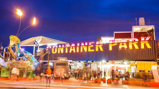 Container Park in Downtown Las Vegas.