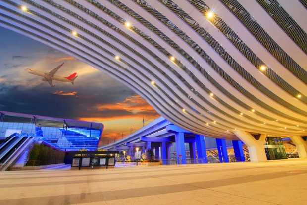 China is modernising its international airport terminals.