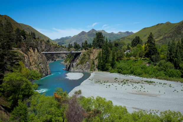 This photo was taken between Kaikoura and Hanmer Springs in New Zealand only days before the recent earthquake caused ...