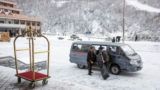 Masikryong Ski Resort has all the bells and whistles of a world-class ski destination.