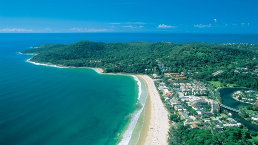 Noosa National Park's walking trails are within easy reach.