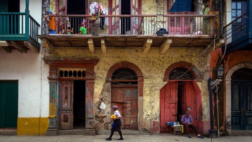 Casco Viejo, Panama City, is still home to a potent mix of colonial charm and dilapidation.