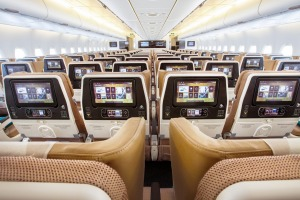 Etihad operates flights from London to Sydney.