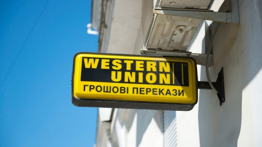how to send money from credit card to western union