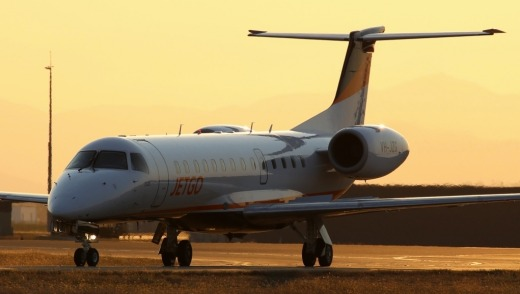 JetGo flies from Melbourne to Port Macquarie four times a week.