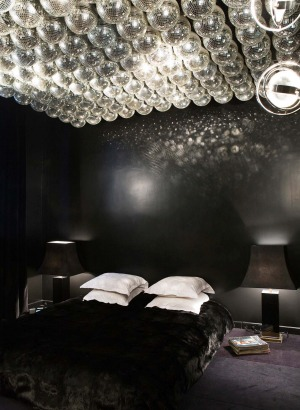 The 20 rooms at Hotel Amour in Paris are outlandishly decorated.
