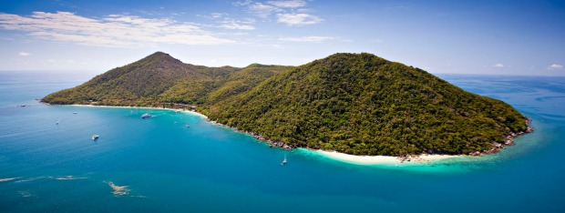Nudey Beach, Fitzroy Island, FAR NORTH QUEENSLAND.