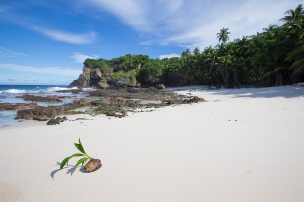 Dolly Beach, Christmas Island, INDIAN OCEAN.