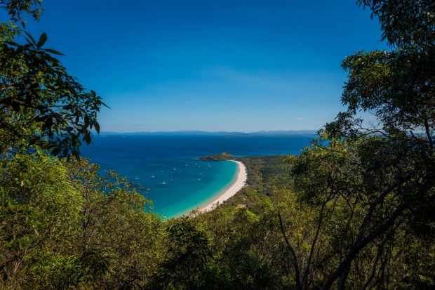 Long Beach, Great Keppel Island, Capricorn Coast, QLD.
