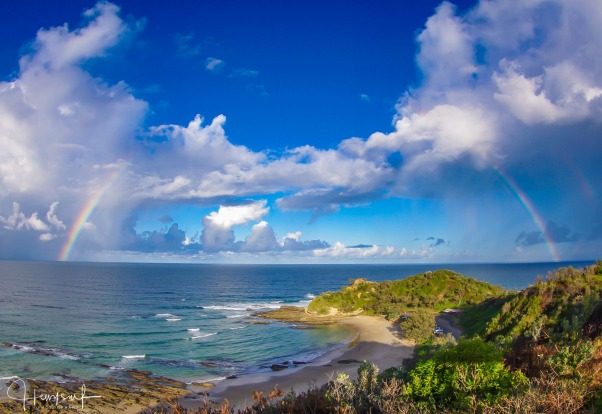 Shelly Beach, Nambucca Coast, NEW SOUTH WALES.