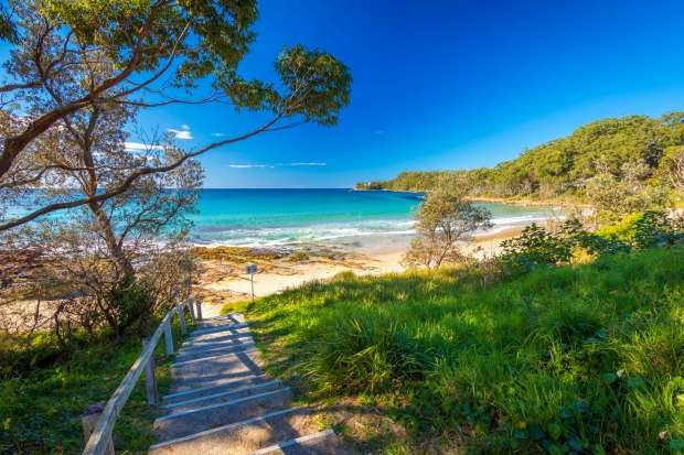 Narrawallee Beach, Shoalhaven Coast, NEW SOUTH WALES.