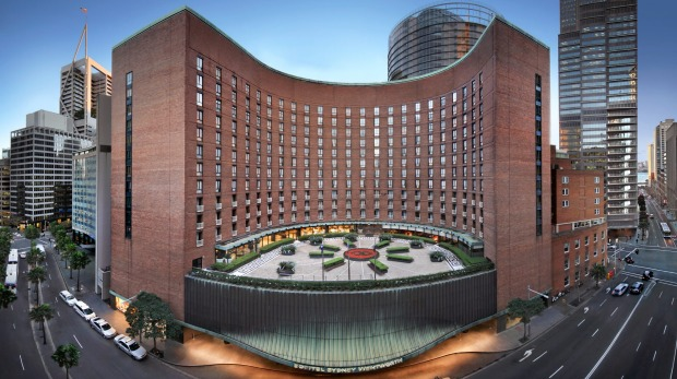 Originally opened in 1966, the Sofitel Sydney Wentworth is a large building featuring a striking curved tower that ...