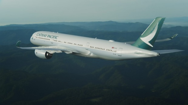 Cathay Pacific Airbus A350.