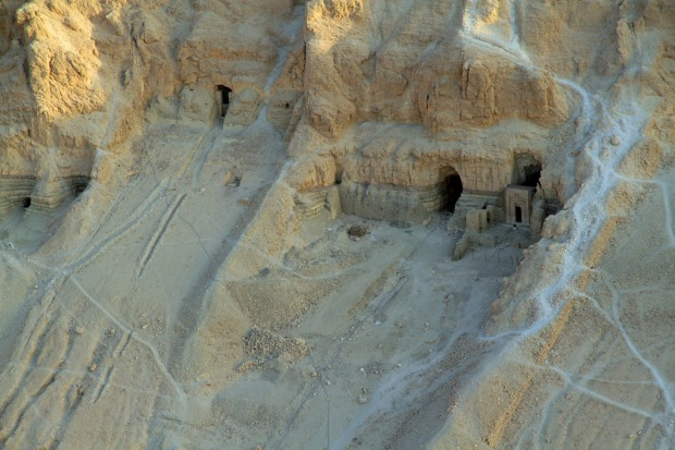 Archaeological excavations are ongoing in the Valley of the Kings in Egypt.