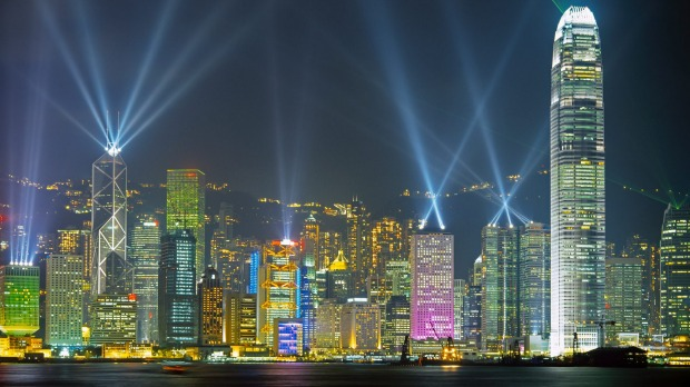 Hong Kong has been named the world's most visited city.