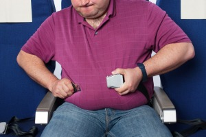 Aircraft manufacturers have struggled to deal with the issue of overweight passengers.